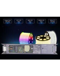 KONTROLER sterownik do taśm LED RGB+CCT Zasilacz 100W Mi-Light - PX1