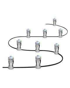 Dekoracyjne punkty świetlne LED RGB 2,5W SMART+ WiFi GARDEN 9 Dot LEDVANCE