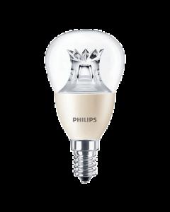 Żarówka LED E14 P45 6W=40W 470lm 2700K Ciepła 140° PHILIPS Ściemnialna