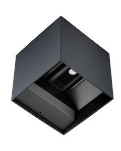 Kinkiet Lampa Oprawa Elewacyjna LED KREON Kwadratowa Góra i dół 2x3W 4000K 196lm IP54 BOWI