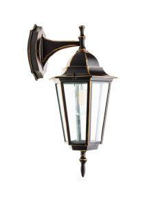Lampa ogrodowa LO4102 E27 IP44 KOBI ALUMINIUM CZARNO-ZŁOTA