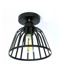 Lampa sufitowa wisząca oprawa metalowa druciana Loft industrial E27