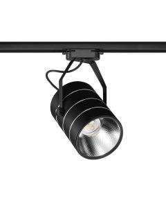 Reflektor szynowy LED PREMIUM czarny 30W 6000K Zimna barwa