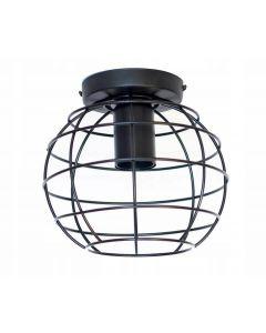 Lampa sufitowa wisząca metalowa oprawa druciana kula Loft E27