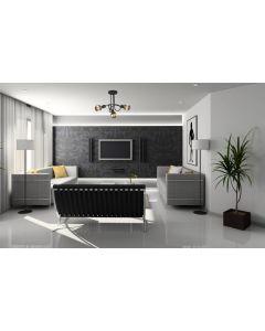 Nowoczesna lampa wisząca sufitowa żyrandol oprawa biała minimalistyczna 3 x E27