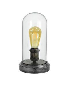 Lampa stołowa biurkowa E27 VARDE Polux Czarna