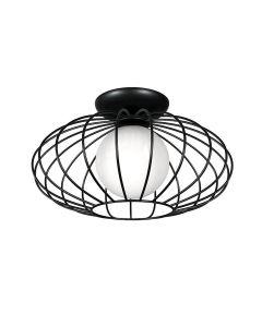 Lampa sufitowa żyrandol KRONOS 1xE14 IP20 Czarny Metal Milagro