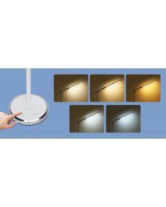 Lampka biurkowa LED 8W 300lm 3000K-6000K ze ściemniaczem AIGOSTAR biała