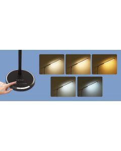 Lampka biurkowa LED 8W 300lm 3000K-6000K ze ściemniaczem AIGOSTAR czarna