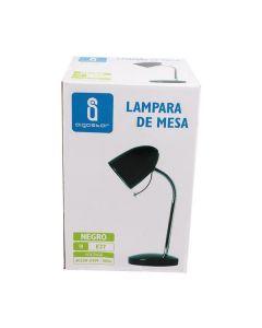 Lampka biurkowa E27 lampka szkolna na biurko metal AIGOSTAR czarna
