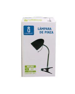 Lampka biurkowa E27 lampka szkolna na biurko z klipsem AIGOSTAR czarna