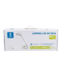 Lampka biurkowa LED 5W 2800-6500K ściemniacz AIGOSTAR biała