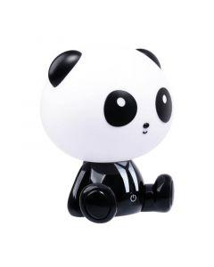 Lampka nocna dekoracyjna dziecięca PANDA LED 2,5W ciepła czarno-biała POLUX