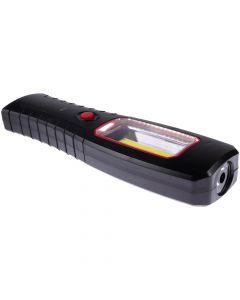 Latarka warsztatowa na baterie MAGNES UCHWYT COB+ 1LED LB0184 LIBOX