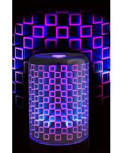 Nawilżacz powietrza / LAMPKA LED Dekoracyjna RGB BONN 3D 2w1 POLUX