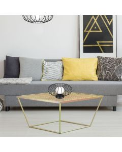 Lampka stołowa stojąca KRONOS 1xE14 IP20 Czarna Metal Milagro