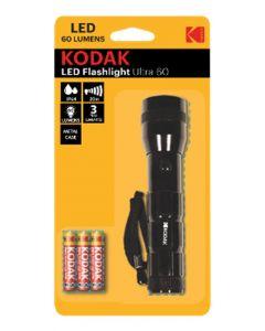 Latarka Kodak LED Flashlight Ultra 60lm + baterie 3xAAA
