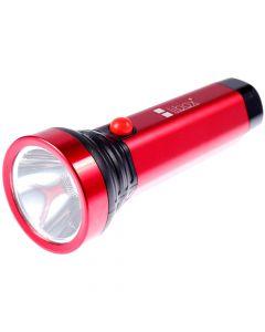 Latarka akumulatorowa aluminiowa COB+LED 3W 200LM 2 TRYBY LB0187 LIBOX