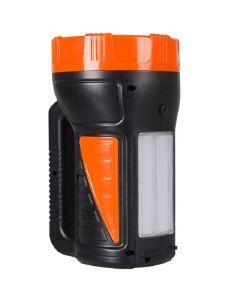 Latarka szperacz akumulatorowa 1,6W 180LM przód / 3W 900LM boczne LB0167 LIBOX