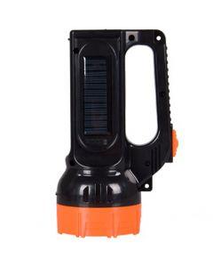 Latarka szperacz akumulatorowa solarna LED 1,5W 150LM przód /  2,1W 500LM boczne LB0169 LIBOX
