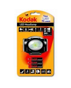 Latarka czołowa LED HEADLAMP 70lm 1 W LED + 3xAAA KODAK