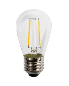 Żarówka LED E27 FILAMENT ST45 2W = 20W 190lm 2700K DO GIRLANDY