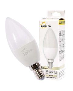 Żarówka LED E14 B35 10W = 90W 990lm 4000K Neutralna 180° LUMILED