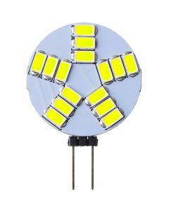 Żarówka LED G4 PALETKA 4W = 35W 360lm 6500K Zimna 270° 12V DC LUMILED