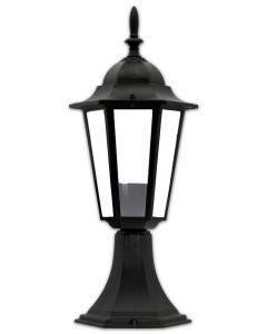 Lampa Ogrodowa Stojąca  LIGURIA-LT 1xE27 Niska 42cm Czarna - Polux