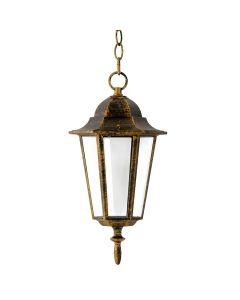 Lampa Ogrodowa Wisząca LIGURIA-LT 1xE27 92cm Patyna - Polux