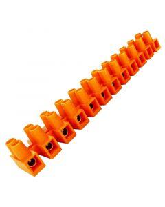 Złączka zaciskowa 12-TOROWA 4mm LISTWA INSTALACYJNA