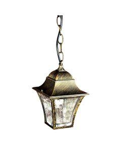 Lampa ogrodowa wisząca London LED 6W 3000K POLUX patyna