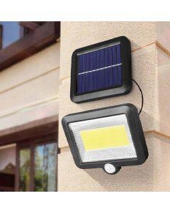 Naświetlacz Solarny LED 5W 5500-6000K Zimna IP54 Masterled Czujnik Ruchu