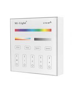 Sterownik LED RGB+CCT NAŚCIENNY DOTYKOWY 4 STREFOWY Mi-Light - B4