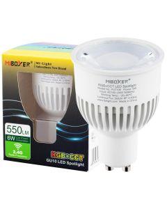 Żarówka LED GU10 6W 550lm Mi-Light RGB+CCT Wi-Fi   FUT106