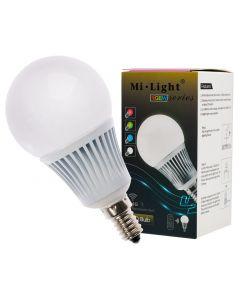 Żarówka LED E14 5W 370lm RGB+W Ciepła Wi-Fi Mi-Light - FUT013WW