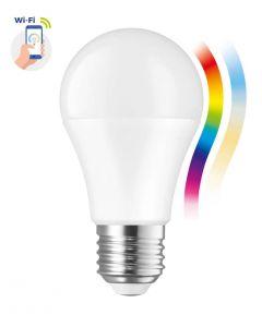 Żarówka LED E27 A60 13W = 98W 1500lm RGB+CCT 210° SPECTRUM Smart TUYA WiFi Ściemnialna