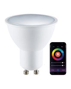 Żarówka LED GU10 5,5W 400lm POLUX  RGB Smart WiFi TUYA