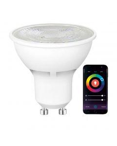 Żarówka LED GU10 5W 480lm  SPECTRUM Smart WiFi RGB+CCT TUYA  Ściemnialna