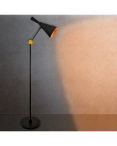 Lampa stojąca podłogowa MODERN F-306C E27 czarna Polux