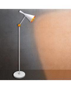 Lampa stojąca podłogowa MODERN F-306C E27 Polux biała