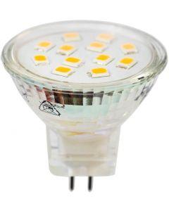 Żarówka LED GU5,3 MR11 2,5W = 25W 220lm 3000K Ciepła 120° 12V LUMILED