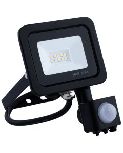 Naświetlacz LED HALOGEN 10W 800lm 4000K IP65 Czujnik Ruchu ANDER ELWATT