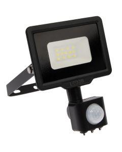 Naświetlacz LED HALOGEN MHC 10W 3000K 800lm Czarny LED2B KOBI Czujnik ruchu