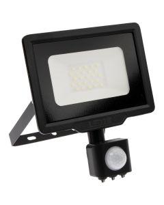 Naświetlacz LED HALOGEN MHC 20W 3000K 1600lm Czarny LED2B KOBI Czujnik ruchu