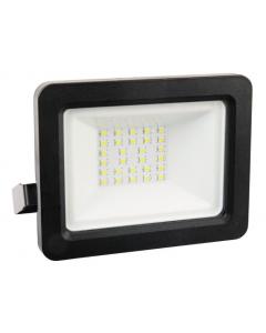 Naświetlacz LED LPP30CWGB 30W  6500K 120° Czarny POLUX
