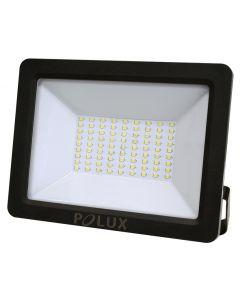 Naświetlacz LED LPP100CWGB 100W 6500K 120° Czarny POLUX