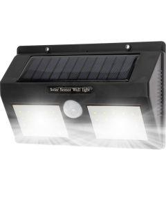 Naświetlacz LED SOLARNY 5W 5500-6000K Zimna IP65 Czarny CZUJNIK RUCHU Masterled