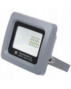 Naświetlacz floodlight LED slim 10W 6000K IP65 WONDERFUL Zimny
