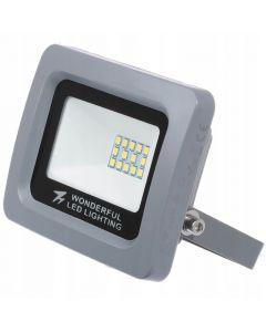 Zestaw 4x Naświetlacz FLOODLIGHT LED SLIM 10W 6000K IP65 WONDERFUL Zimny